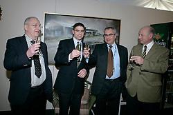 Buchmann Jacky, Belliard Jean, Devos Ingmar, Mathy Eugene<br /> CSI-W Mechelen 2006<br /> Photo © Dirk Caremans