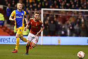 Nottingham Forest midfielder Ben Osborn during the Sky Bet Championship match between Nottingham Forest and Preston North End at the City Ground, Nottingham, England on 8 March 2016. Photo by Jon Hobley.