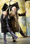 Mr Stink <br /> by David Walliams<br /> live on stage<br /> World Premier<br /> illustrated by Quentin Blake<br /> adapted &amp; directed by Matthew White<br /> press photocall<br /> at the Hackney Empire, London, Great Britain <br /> 21st June 2011<br /> <br /> Peter Edbrook (as Mr Stink)<br /> Lotte Gilmore (as Chloe)<br /> <br /> Photograph by Elliott Franks