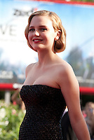 Actress Odessa Young at the gala screening for the film Looking For Grace at the 72nd Venice Film Festival, Thursday September 3rd 2015, Venice Lido, Italy.