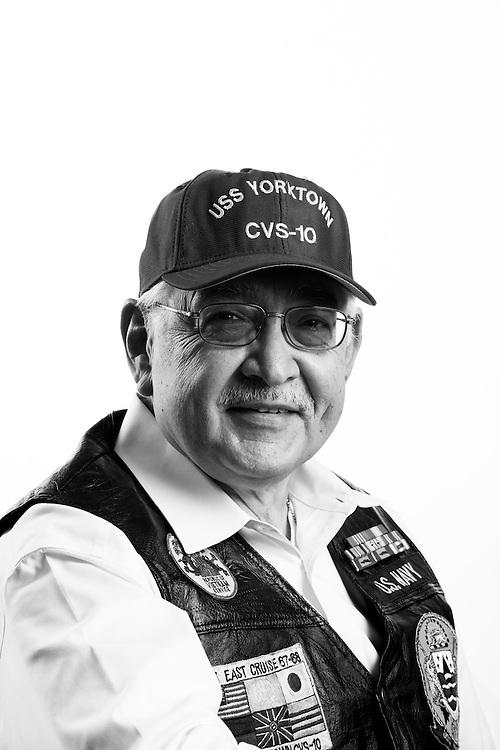 Mario Longoria<br /> Navy<br /> E-4<br /> Sea Duty<br /> Oct. 1966 - June 1970<br /> Vietnam<br /> <br /> Veterans Portrait Project<br /> Colorado Springs, CO San Antonio, Texas