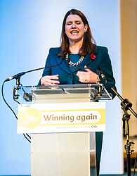 Pictured: Liberal Democrat Leader Jo Swinton<br /> The Scottish Liberal Democrats stalwarts gathered today in Dunfermline for their Autumn Conference<br /> <br /> Ger Harley | EEm 11 November 2017