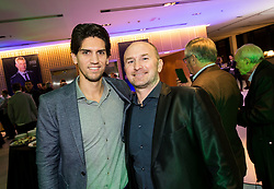 Miha Penko and Anze Baselj during Traditional New Year party of of the Slovenian Football Association - NZS, on December 18, 2017 in Kongresni center, Brdo pri Kranju, Slovenia. Photo by Vid Ponikvar / Sportida