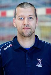 Portrait of Beno Lapajne of Slovenian Handball Men National Team, on June 4, 2009, in Arena Kodeljevo, Ljubljana, Slovenia. (Photo by Vid Ponikvar / Sportida)