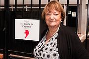 Françoise Dumont - présidente de la Ligue des Droits de l'Homme