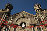 San Sebastian Cathedral is a late nineteenth century church in Bacolod, the seat of the Roman Catholic Diocese of Bacolod.  Fr. Julian Gonzaga, from Barcelona the priest from 1818-1836 had the original wooden church ibuilt n 1825.  The present structure was reconstructed in 1876 under Father Mauricio Ferrero.  Hardwood from Palawan were used for the building. Fr. Mariano de Avila's bell was installed in the bell tower during construction.    In 1885, construction of the bell towers began.  The towers were made of aluminum framed in hardwood.  The church was declared a cathedral in 1933 when Bacolod became its own diocese.