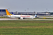 Pegasus Airlines Boeing 737 Next Gen at Milan Malpensa (MXP / LIMC) Italy