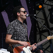 London,England,UK : 17th July 2016 : Calexico preforms at the Citadel Festival 2016 at Victoria Park, London,UK. Photo by See Li