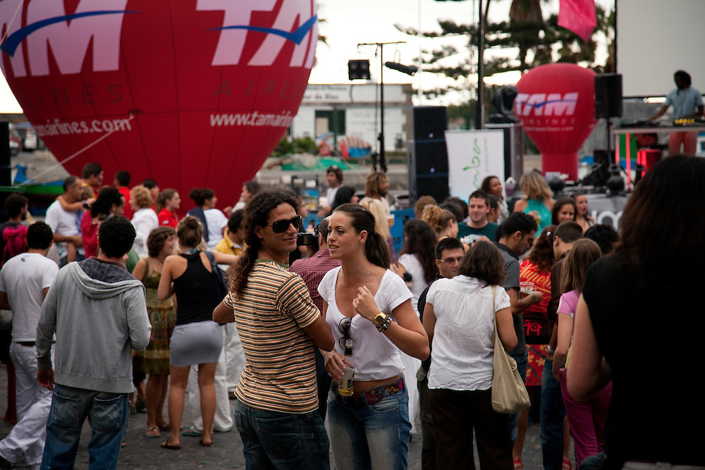 Festival in Puerto de La Cruz, North Tenerife.