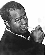 Louis (Satchmo) Armstrong (c1898-1971) American jazz trumpeter and singer. Photograph