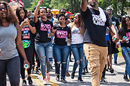 March for justice for  Chikesia Clemons