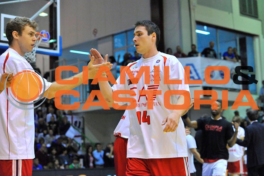 DESCRIZIONE : Campionato 2013/14 Semifinale GARA 3 Dinamo Banco di Sardegna Sassari - Olimpia EA7 Emporio Armani Milano<br /> GIOCATORE : Kristjan Kangur<br /> CATEGORIA : Before<br /> SQUADRA : Olimpia EA7 Emporio Armani Milano<br /> EVENTO : LegaBasket Serie A Beko Playoff 2013/2014<br /> GARA : Dinamo Banco di Sardegna Sassari - Olimpia EA7 Emporio Armani Milano<br /> DATA : 03/06/2014<br /> SPORT : Pallacanestro <br /> AUTORE : Agenzia Ciamillo-Castoria / Luigi Canu<br /> Galleria : LegaBasket Serie A Beko Playoff 2013/2014<br /> Fotonotizia : DESCRIZIONE : Campionato 2013/14 Semifinale GARA 3 Dinamo Banco di Sardegna Sassari - Olimpia EA7 Emporio Armani Milano<br /> Predefinita :