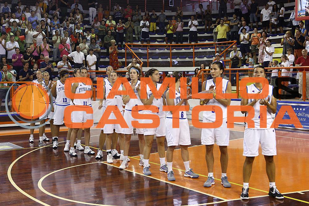 DESCRIZIONE : Pescara Giochi del Mediterraneo 2009 Mediterranean Games Italia Serbia  Italy  Serbia Final Women<br /> GIOCATORE : team<br /> SQUADRA : Italia Italy<br /> EVENTO : Pescara Giochi del Mediterraneo 2009<br /> GARA : Italia Serbia  Italy  Serbia<br /> DATA : 02/07/2009<br /> CATEGORIA : <br /> SPORT : Pallacanestro<br /> AUTORE : Agenzia Ciamillo-Castoria/C.De Massis