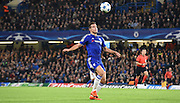 Cesar Azpilicueta controls the loose ball during the Champions League group stage match between Chelsea and Dynamo Kiev at Stamford Bridge, London, England on 4 November 2015. Photo by Michael Hulf.