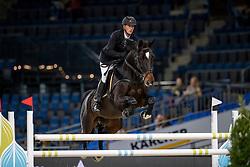 Cox Karel, BEL, Evert<br /> Stuttgart - German Masters 2018<br /> © Hippo Foto - Stefan Lafrentz