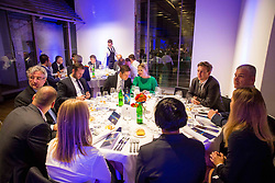 Official dinner ahead to the UEFA Futsal EURO 2018 Draw, on September 28, 2017 in Ljubljanski grad, Ljubljana, Slovenia. Photo by Vid Ponikvar / Sportida
