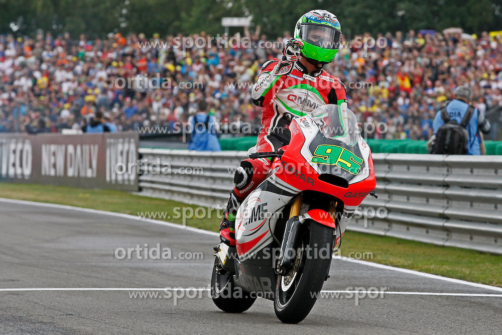 23.09.2012, TT Circuit, Assen, NED, MotoGP, Assen, im Bild 95 Anthony West // during the MotoGP Iveco TT Assen at the TT Circuit in Assen, Netherlands on 2012/09/23. EXPA Pictures &copy; 2014, PhotoCredit: EXPA/ Eibner-Pressefoto/ FOTO-SPO_AG<br /> <br /> *****ATTENTION - OUT of GER*****