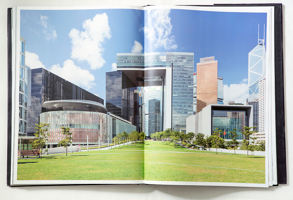 """""""Tamar: The Art of Construction"""", documenting the development of the Hong Kong SAR government headquarters. Published 2012."""
