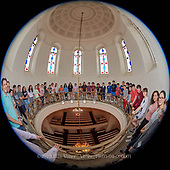 Temple 2019 Confirmation Class in the  Sanctuary Cupola