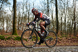 Thi That Nyuyen (VIE) at Ronde van Drenthe 2019, a 165.7 km road race from Zuidwolde to Hoogeveen, Netherlands on March 17, 2019. Photo by Sean Robinson/velofocus.com