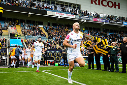 Exeter Chiefs run out at the Ricoh Arena to face Wasps - Mandatory by-line: Robbie Stephenson/JMP - 08/09/2018 - RUGBY - Ricoh Arena - Coventry, England - Wasps v Exeter Chiefs - Gallagher Premiership