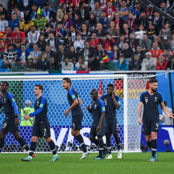 Team of France during the Semi Final FIFA World Cup match between France and Belgium at Krestovsky Stadium on July 10, 2018 in Saint Petersburg, Russia. (Photo by Anthony Dibon/Icon Sport)