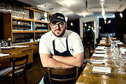 Chefs portraits and culinary reportage in Montrealer restaurants for culinary guide Gault et Millau Montreal