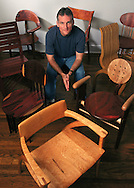 Custom chair maker portrait