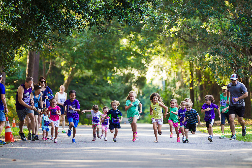 Images from the fourth race in the 2016 Race the Landing 5k Series at Charlestowne Landing in Charleston, South Carolina.