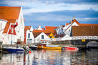 Norway, Skudeneshavn. A small town on Karmøy.
