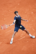 Roland Garros. Paris, France. May 31st 2008..Roger FEDERER against Mario ANCIC..3rd Round...