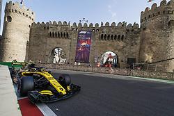 April 28, 2018 - Baku, Azerbaijan - SAINZ Carlos (spa), Renault Sport F1 Team RS18, action during the 2018 Formula One World Championship, Grand Prix of Europe in Azerbaijan from April 26 to 29 in Baku  (Credit Image: © Hoch Zwei via ZUMA Wire)