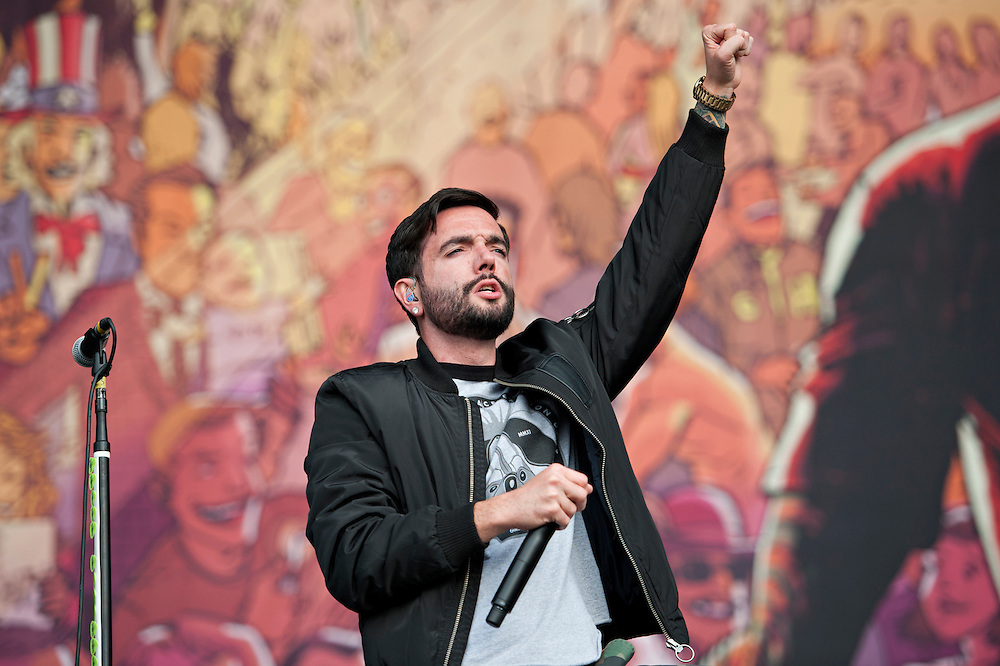Live at Reading Festival 2014.