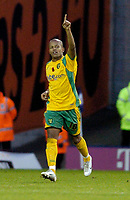 Photo: Leigh Quinnell.<br /> West Bromwich Albion v Norwich City. Coca Cola Championship. 11/11/06 Robert Earnshaw celebrates his goal for Norwich.