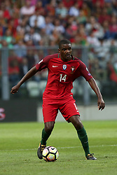 August 31, 2017 - Porto, Portugal - Portugal's midfielder William Carvalho in action during the 2018 FIFA World Cup qualifying football match between Portugal and Faroe Islands at the Bessa XXI stadium in Porto, Portugal on August 31, 2017. (Credit Image: © Pedro Fiuza/NurPhoto via ZUMA Press)