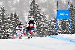 Downhill, CIVADE Thomas Guide: LARMET Kerwan, B3, FRA at the WPAS_2019 Alpine Skiing World Championships, Kranjska Gora, Slovenia