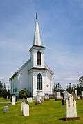 Canoe Cove Presbyterian Church, Prince Edward Island, Canada.