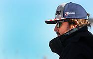 DAYTONA BEACH, FLORIDA USA ENERO 06 2018.<br /> El piloto espa&ntilde;ol Fernando Alonso del equipo United Autosports observa las pr&aacute;cticas para la competencia Rolex 24 Horas en la ciudad de Daytona Beach en Florida Estados Unidos hoy 06 de Enero del 2018. (GERARDO MORA / IPAPHOTO.COM)