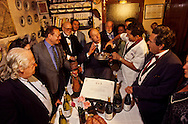"""France. Lyon . The Gnafron prize being awarded in the restaurant Au Bon Pasteur. The award is given to a restaurateur who has distinguished himself in the course of the year. here it goes to jean Brouilly, chef at Tarare    /  Remise du prix Gnafron dans le restaurant au bon pasteur"""" Cette recompense distingue un restaurateur qui s'est illustre au cours de l'annee ecoulee. Ici Jean Brouilly, chef à Tarare.   /  R00069/15    L930922a  /  P0000222"""