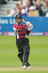 Peter Trego of Somerset - Photo mandatory by-line: Dougie Allward/JMP - Mobile: 07966 386802 - 19/06/2015 - SPORT - Cricket - Bristol - County Ground - Gloucestershire v Somerset - Natwest T20 Blast