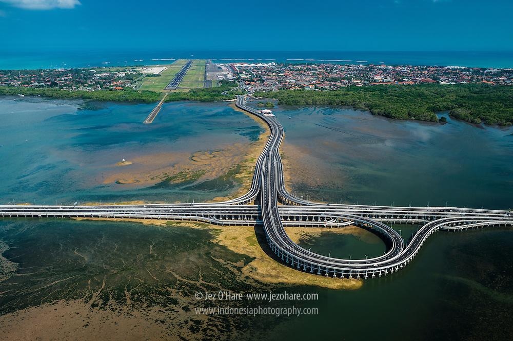 Bali Mandara toll road & Ngurah Rai international airport, Denpasar, Bali, Indonesia
