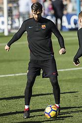 January 5, 2018 - Barcelona, Catalonia, Spain - Andre Gomes from Portugal of FC Barcelona during the FC Barcelona open doors training session at Mini Estadi in Barcelona on 05 of January, 2018. (Credit Image: © Xavier Bonilla/NurPhoto via ZUMA Press)