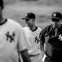 Professional baseball player Derek Jeter of the New York Yankees of the Mayor League Baseball during a pre season visit to Panama City, Panama in 2014. Photo by: Tito Herrera for The New York Times