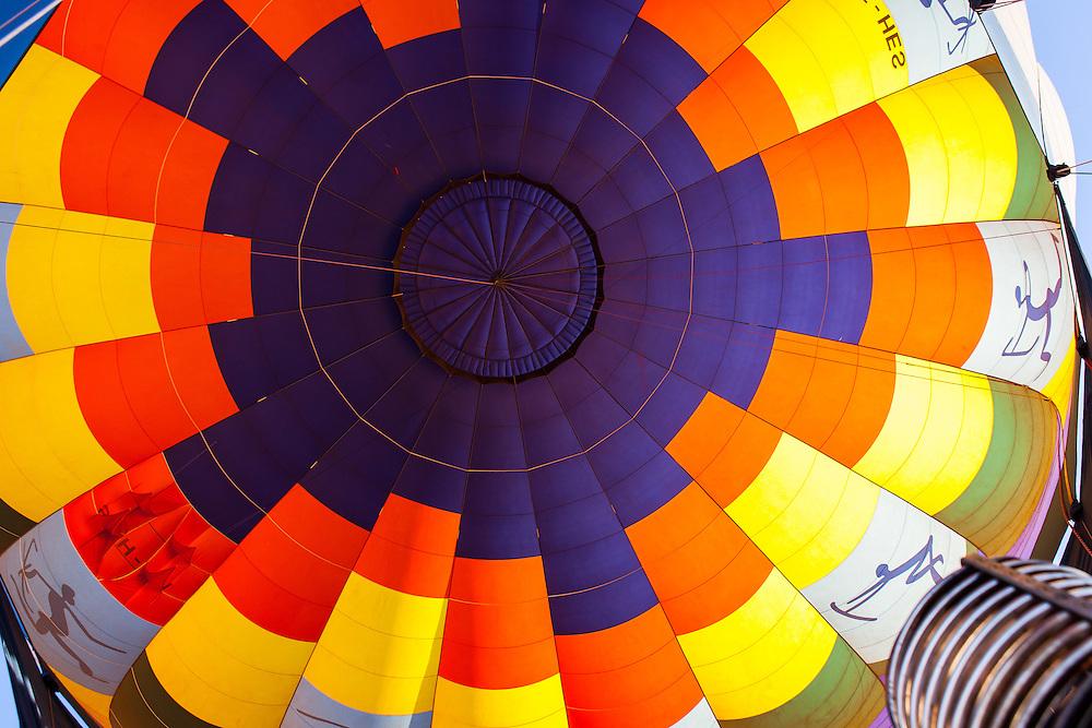 hot air balloon, Dead Vlei, Namibrand nature reserve, Sossusvlei Area, Namibia