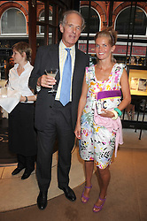 COUNT NIKOLAI TOLSTOY-MILOSLAVSKY and his daughter COUNTESS ALEXANDRA TOLSTOY-MILOSLAVSKY at a party to celebrate the publication of Sashenka by Simon Sebag-Montefiore held at Asprey, Bond Street, London on 1st July 2008.<br /><br />NON EXCLUSIVE - WORLD RIGHTS