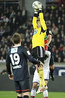 FOOTBALL - FRENCH CUP 2011/2012 - 1/4 FINAL - PARIS SAINT GERMAIN v OLYMPIQUE LYONNAIS - 21/03/2012 - PHOTO JEAN MARIE HERVIO / REGAMEDIA / DPPI - HUGO LLORIS (OL)