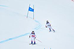 Downhill, LAHNER Josef Guide: ERHARTER Franz, B3, AUT at the WPAS_2019 Alpine Skiing World Championships, Kranjska Gora, Slovenia