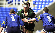 04/05/2002.Sport - Rugby Union.Zurich Premiership.London Irish vs Sale.Exiles Fullback Michael Horak, go's for the gap....[Mandatory Credit, Peter Spurier/ Intersport Images].