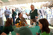 Ray Schilderink chats during the College of Business tailgating party during homecoming weekend on Saturday, October 13, 2012..Photo by Chris Franz