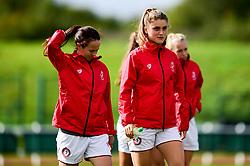 Vita Van Der Linden of Bristol City prior to kick off - Mandatory by-line: Ryan Hiscott/JMP - 29/09/2019 - FOOTBALL - SGS College Stoke Gifford Stadium - Bristol, England - Bristol City Women v Chelsea Women - FA Women's Super League